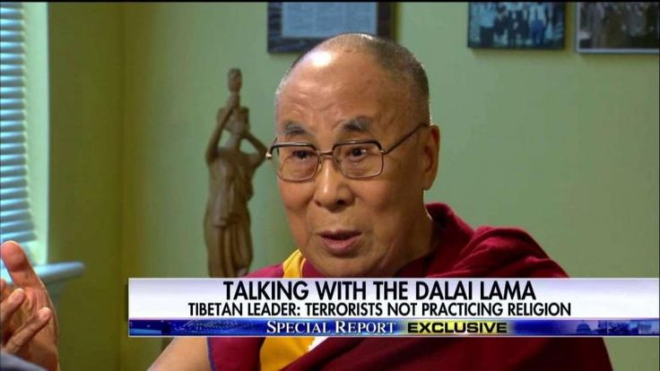 The Dalai Lama: It's Wrong to Say 'Muslim Terrorist'  After his meeting with President Obama today, the Dalai Lama sat down with Bret Baier to discuss a range of issues, including refugees, terrorists and radical Islam.