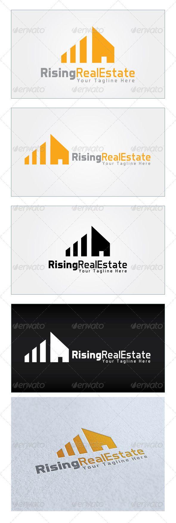 best 20 building logo ideas on pinterest logo inspiration rising real estate logo template