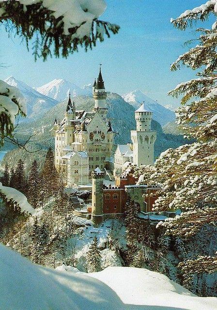 Neuschwanstein Castle, Germany  photo via lora