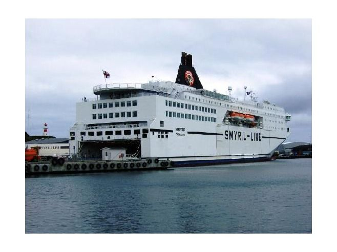 Smyrl Ferry that you can take to Iceland from Denmark