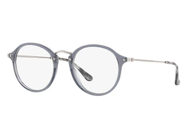 Ray-Ban 0RX2447V-ROUND FLECK Grau; Silber OPTICAL
