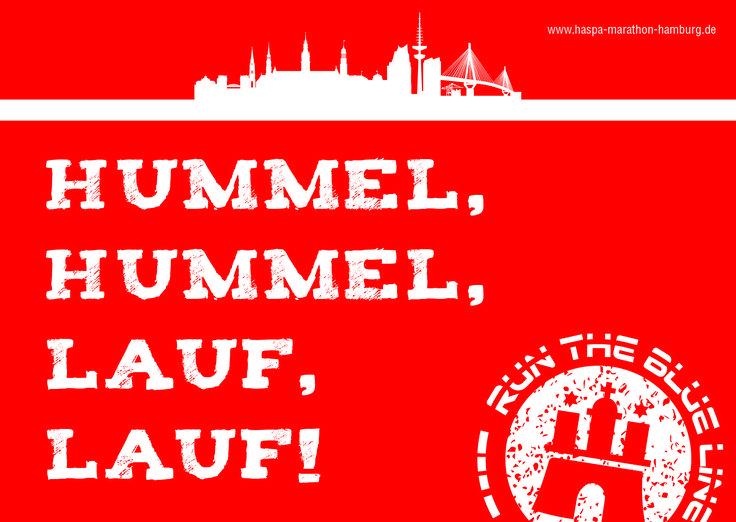 #hummelhummel#lauflauf #runtheblueline #haspamarathonhamburg2017