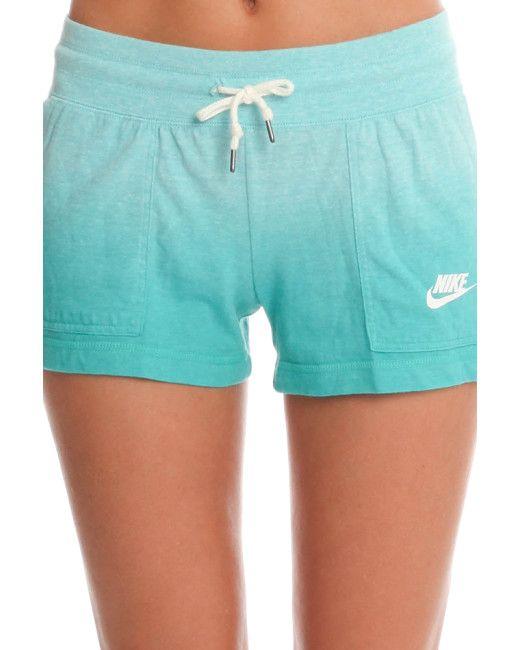 Nike | Blue Vintage Dip Dye Shorts | Lyst
