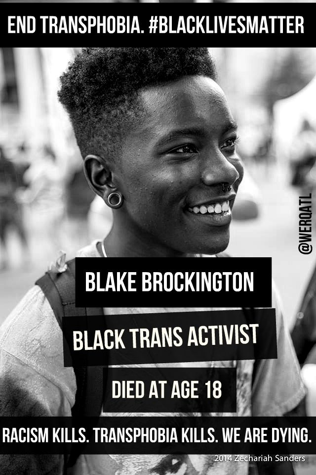 blackqueerfuture:  Black Trans Lives Matter!Meme Creator: Dean Steed daughterofzami.
