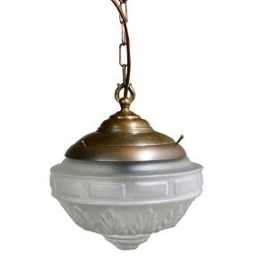Manufactured In Ireland This Traditional Style Brass Pendant Is Reminiscent Of A Victorian Light