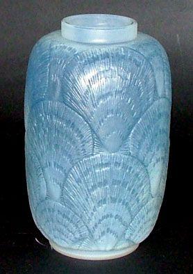 Rene Lalique ~ Coquilles Vase; ca. 1930.