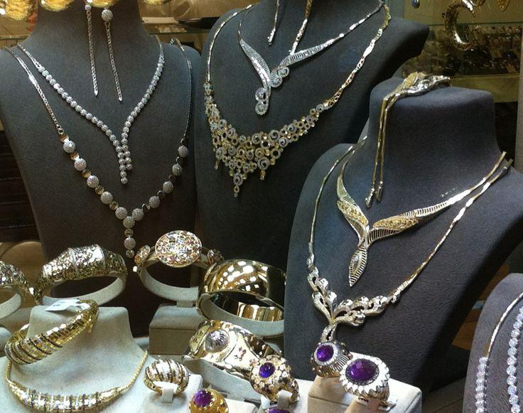 Joyas de oro - Gran Bazaar, Estambul / Gold jewelry - Grand Bazaar, Istanbul