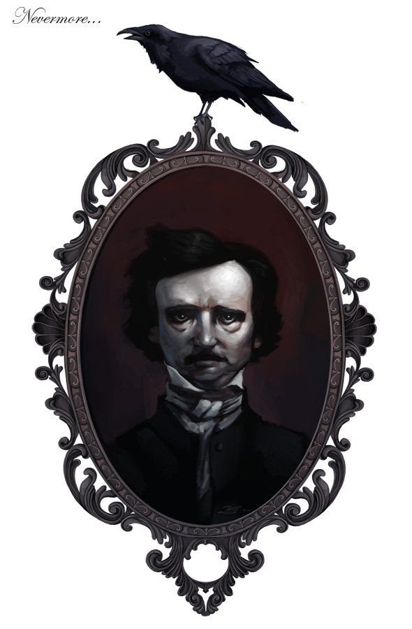 an overview of the bizarre art work by edgar allan poe an american poet A collection of classic works by edgar allan poe, american author, poet, editor, and literary critic  the works of edgar allan poe, volume 2  june 16th 1904, largely through the eyes.