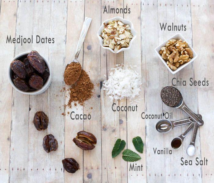 Mint Chocolate Power Balls | glutenfreeifyouplease.com