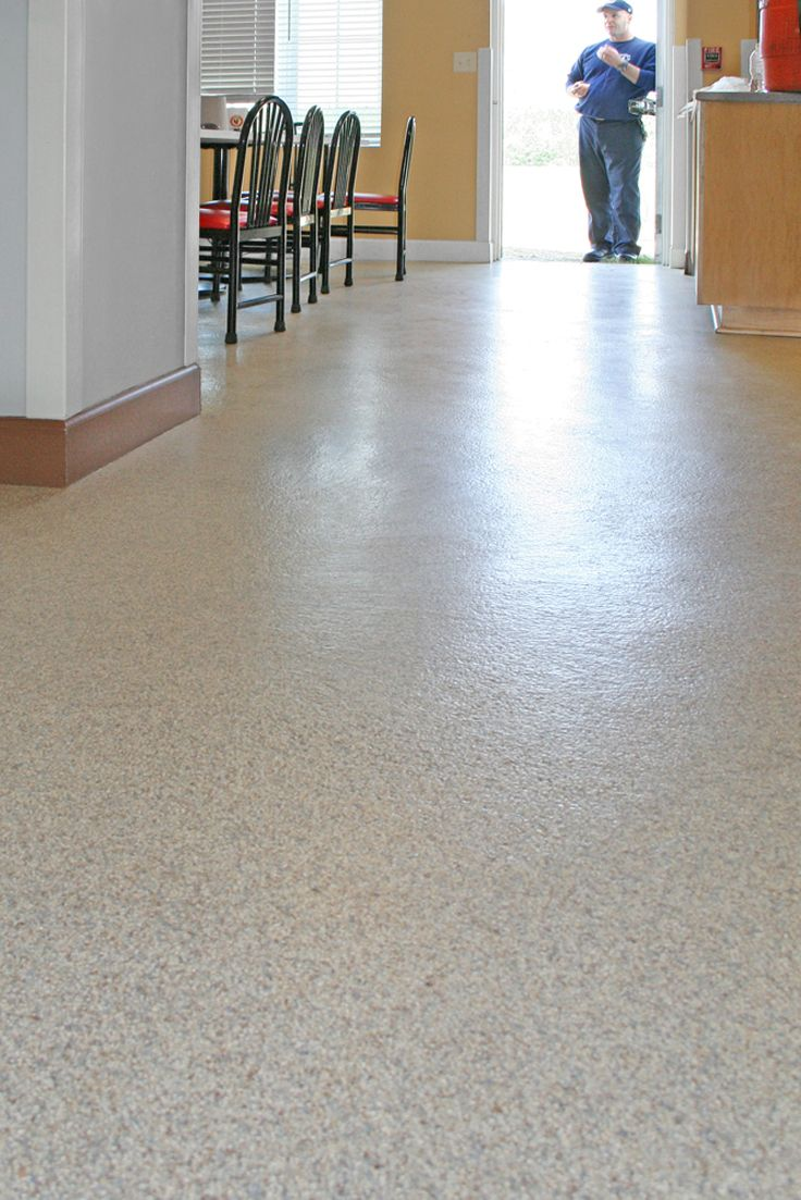Everlast Epoxy Floor Can Be Installed By A Flooring Contractor Or A Motivated Do It Yourselfer Who Can Use Epoxy Floor Flooring Contractor Commercial Flooring