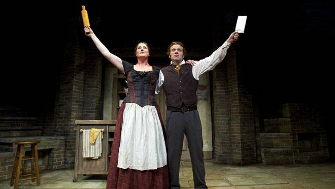 Neptune Theatre's 50th season opening production of Sweeney Todd: The Demon Barber of Fleet Street, running Friday to Oct. 7, stars Shane Carty as the Demon Barber and Shelley Simester as the pie shop owner Mrs. Lovett. (CHRISTIAN LAFORCE / Staff)