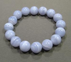 Blue Lace Agate: Eliminates negativity, arthritic conditions, and helps mend breaks and fractures.