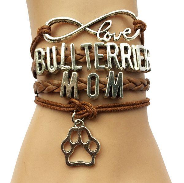 Bull Terrier Handmade Braided Bracelet