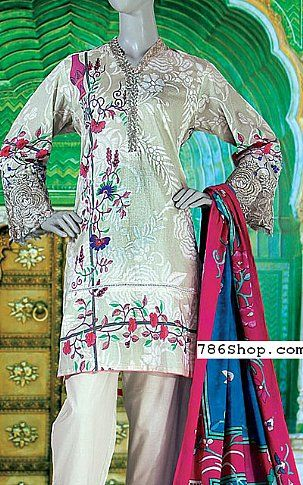 Light Green Lawn Suit | Buy Junaid Jamshed Eid Collection Pakistani Dresses and Clothing online in USA, UK