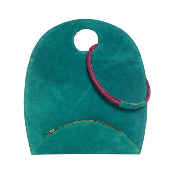 Green Tote Bag by Georgina