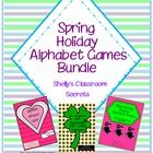 These holiday alphabet games will be  favorites of your students. Included are a dozen different ways to differentiate play of this game from your ...