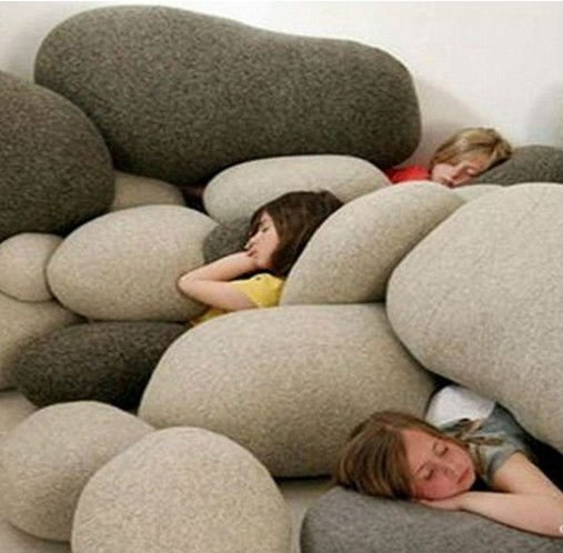 Newest cool ventilate bean bag chairs