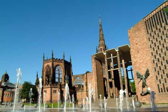 Coventry, the place I found my independence, gained my degree and met my lovely husband