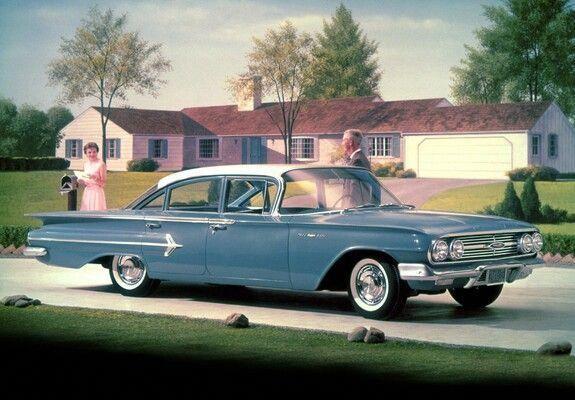 1960 Chevrolet Bel Air 4 Door Sedan Dodgeclassiccars Chevrolet