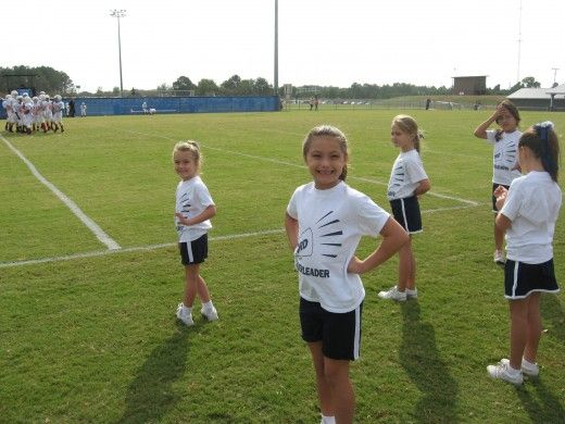 Host a cheerleading class for kids. Great fundraiser for the cheer squad!