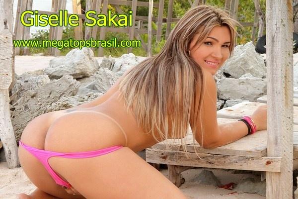 Giselle Sakai - Brazilian Shemale