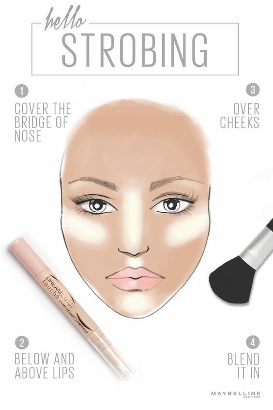 If contouring takes too much time and effort for your everyday routine, try strobing highlighter on your face, instead. | 7 Ridiculously Easy Makeup Tips That Will Simplify Your Life