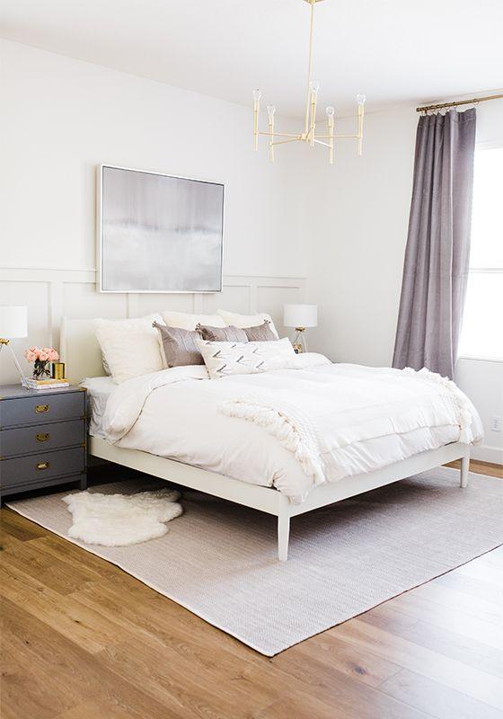 The Posh Home One Room Challenge Master Bedroom Reveal Week 7 2