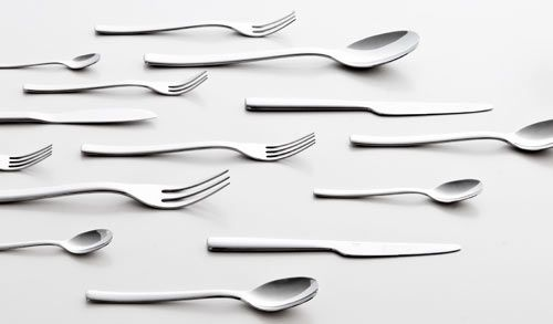 Ovale Flatware by Ronan and Erwan Bouroullec for Alessi Photo