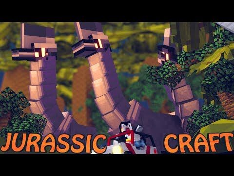 "Minecraft Dinosaurs | Jurassic Craft Modded Survival Ep 5! ""MORE DNA!"" - YouTube"