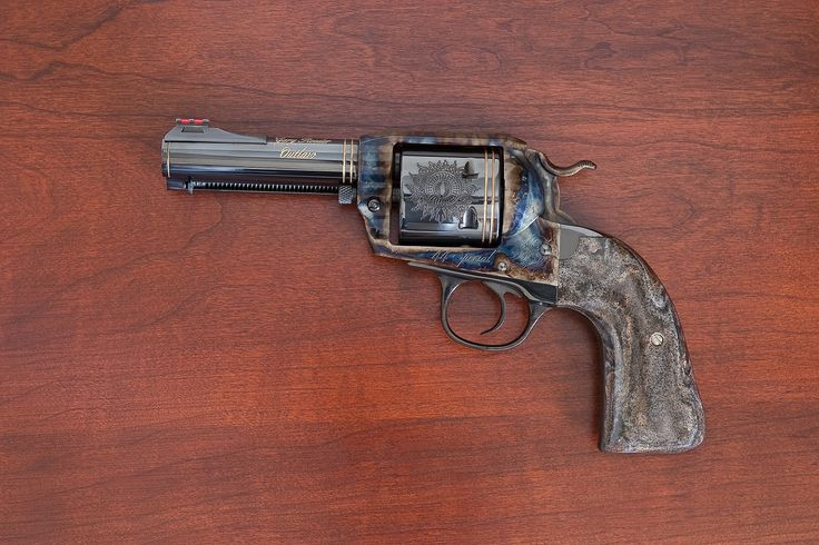 Gunnysack: New Product Spotlight - Gary Reeder Custom Guns' all-new Outlaw, built on the Ruger Vaquero with a Bisley Gunfighter Grip and contrasting Sorrel grips | For more information, visit his website at http://ReederCustomGuns.com | #NPOTD #GaryReederCustom #Ruger #Outlaw #Wheelgun