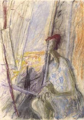 Ilka Gedő, 'Self-Portrait in Pregnancy', 1947
