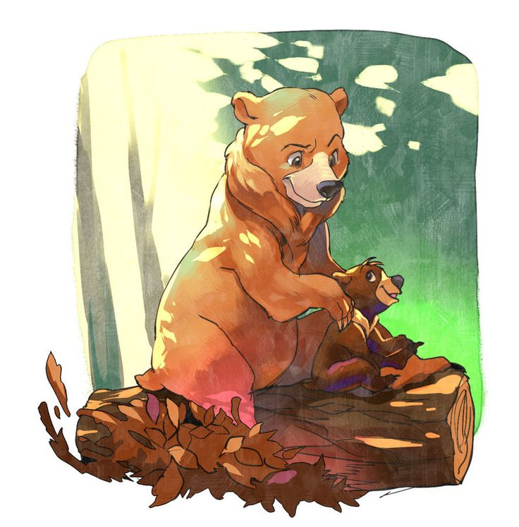 brother bear by Umintsu