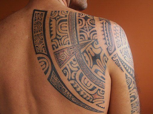 Tribal #samoan #tattoo