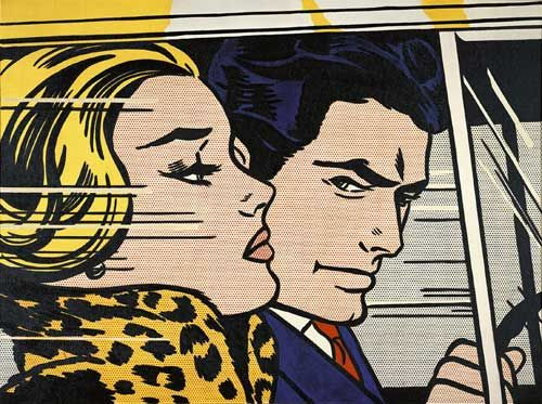 "Roy Lichtenstein ""In the Car"" - 1963"