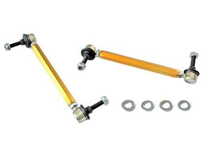 Whiteline 2002-2014 Mini Cooper/ 2010-2013 Mazda 3 Mazdaspeed/ 2007-2012 Lexus RX350/ 2004-06 Lexus RX330 Rear Heavy Duty Adjustable Sway Bar Link Kit