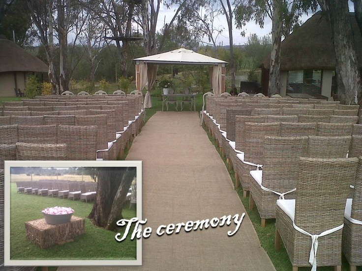 Wedding Venue Pretoria Gauteng -Vivere grass with a beautiful view of the dam and wild buck.