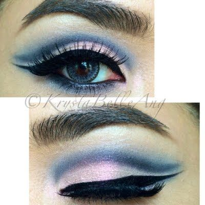 Kyx takes her cut crease a knotch higher with this beautiful nightout look using her gifts from MAKE UP FOR EVER. See the exact Artist Shadows she used by clicking on the pic.