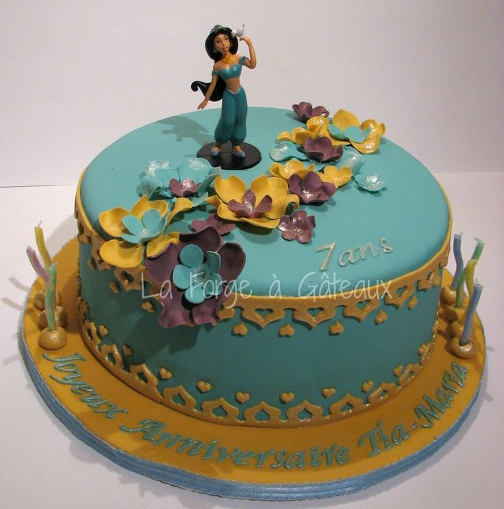 Princess Jasmine — Children's Birthday Cakes  La Forge à Gâteaux