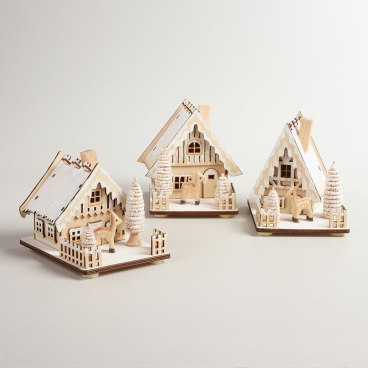 Create a shimmering winterscape on your mantel or tabletop with our homey decor…