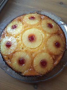 Chefkoch.de Rezept: Umgestürzter Ananaskuchen