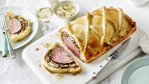 BBC Food - Recipes - Beef Wellington with tarragon sauce