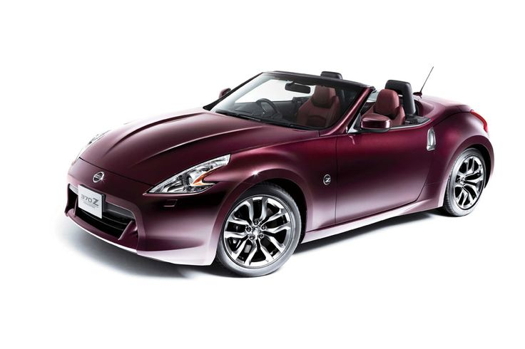 This is the actual car I looking at getting in the Dark Cherry color - LOVE it!! Nissan 370Z Convertible | Nissan 370Z Roadster