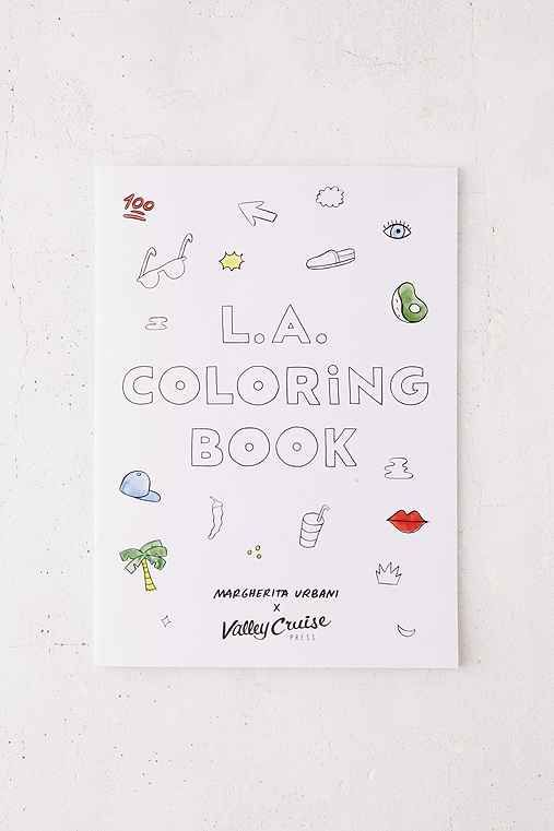 LA Coloring Book By Margherita Urbani