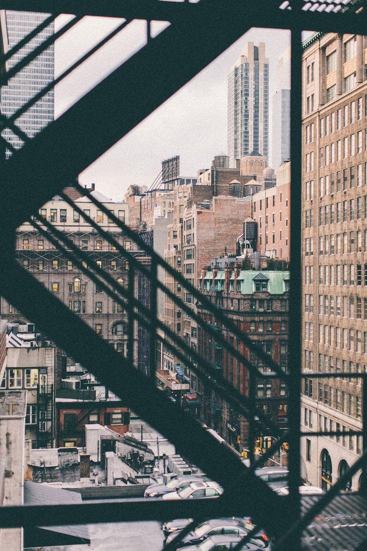 New York - Building - Escalier - Issue de Secours