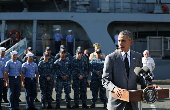 #44thPresident BarackObama #toured the BRP Gregorio del Pilar ship in #Manila #Philippines November 17, 2015. The BRP Gregorio del Pilar is an advanced Philippine Navy frigate once owned by the United States.