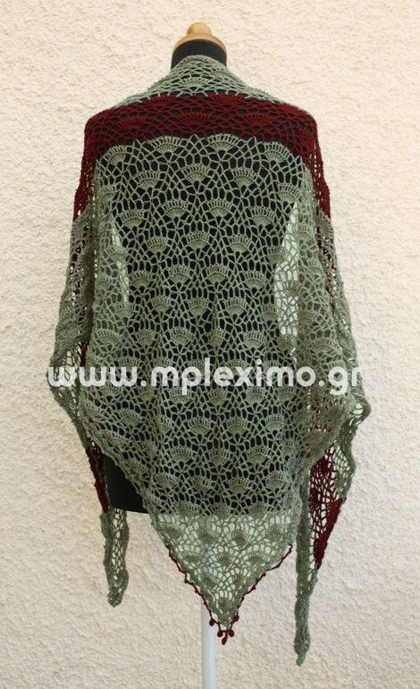 the festival shawl http://www.mpleximo.gr/crochet-shawls/
