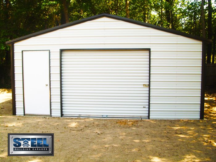 Build your own metal carport woodworking projects plans for Cost to build your own garage