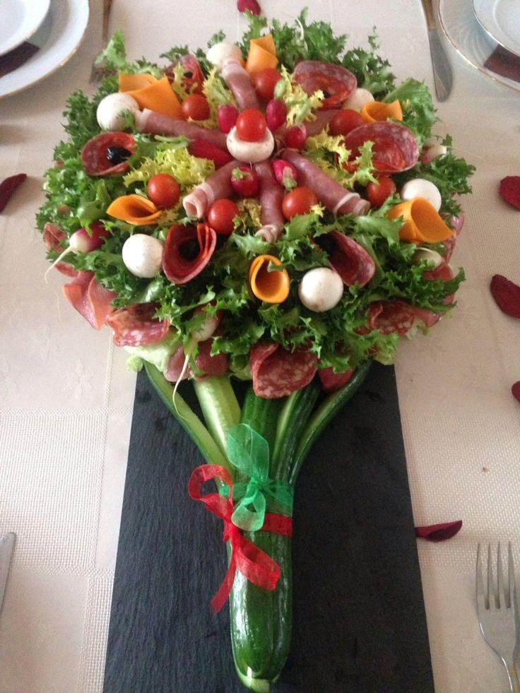 Bouquet de charcuterie | Miam miam