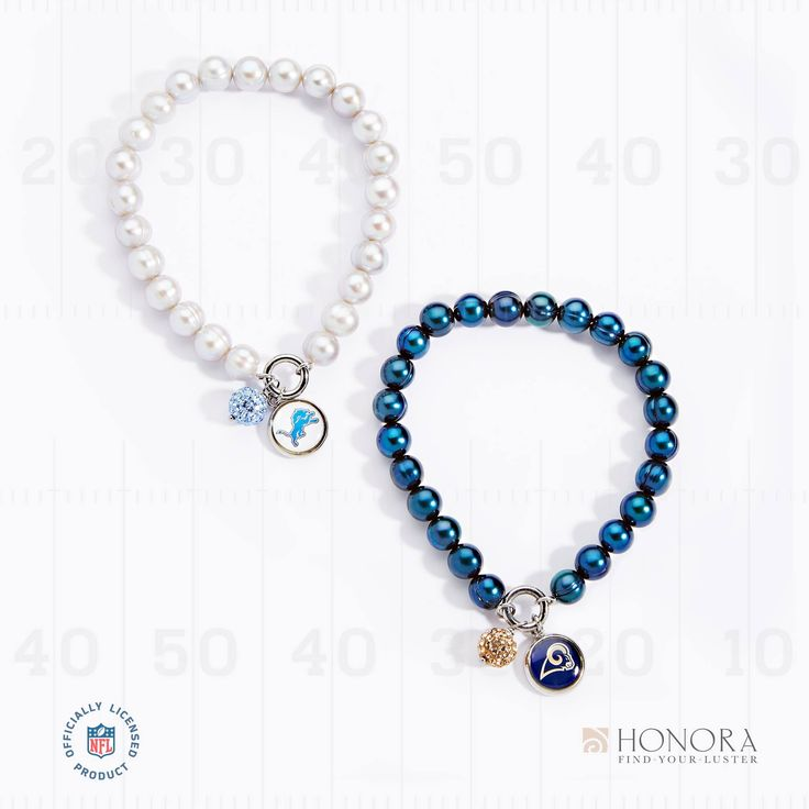 It wouldn't be Sunday without football. Get your #NFLJewelry from #Honora on @QVC today! #PearlsThatGoWith #TeamColors #TeamPride #NFLFanStyle #FootballSundays #HonoraPearls