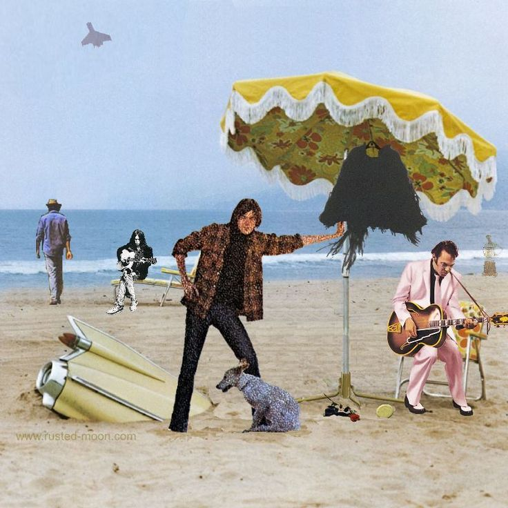 On The Beach  - cover art quiz on Thrasher's Wheat -